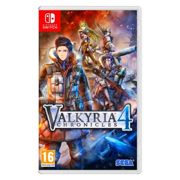 Nintendo Switch Valkyria Chronicles 4