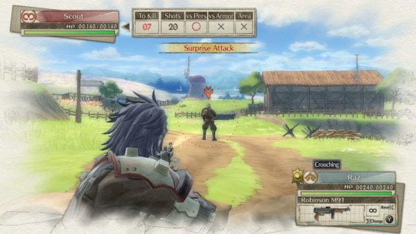 Nintendo Switch Valkyria Chronicles 4 Screenshot 3