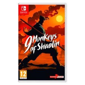 Nintendo Switch 9 Monkeys of Shaolin