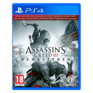 PS4 Assassin's Creed III Remastered