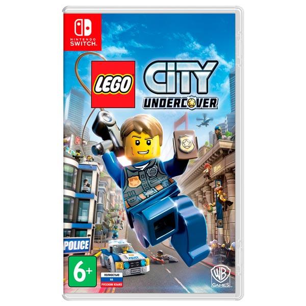 Nintendo Switch - Игра Lego City Undercover