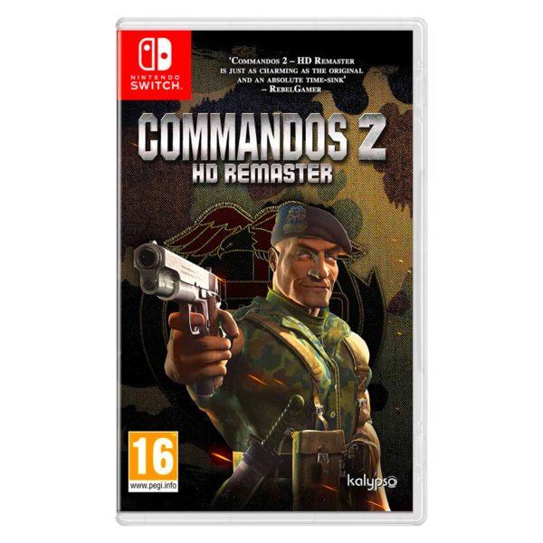 Nintendo Switch Commandos 2 HD Remaster