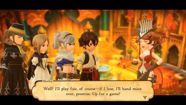Nintendo Switch Bravely Default II Screenshot 2